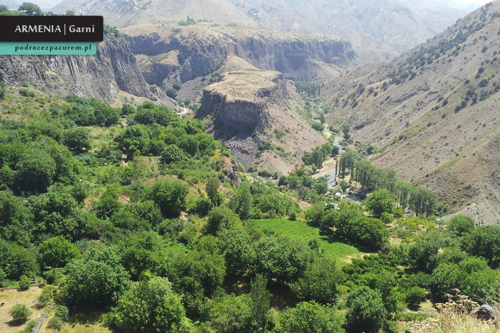 _8. wąwóz w okolicach świątyni Garni